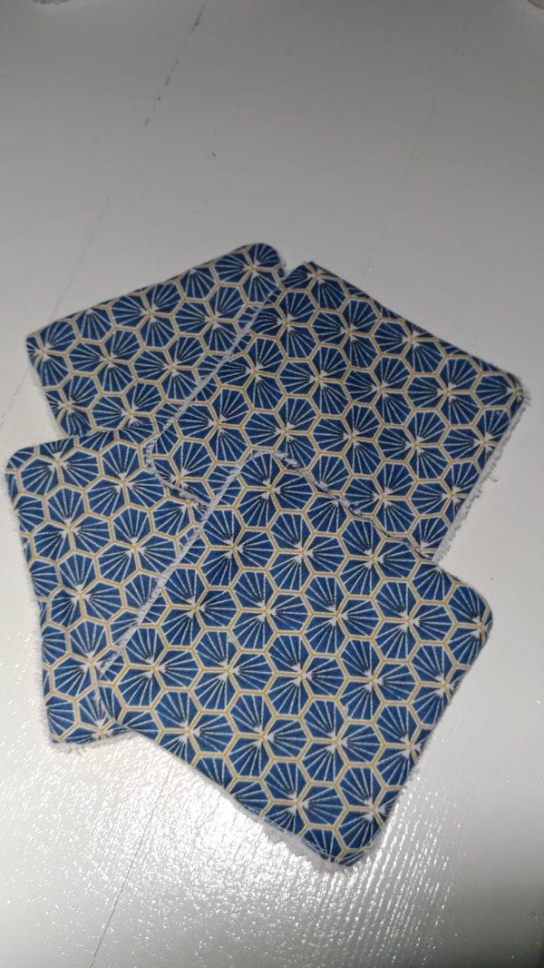 lingettes bleus